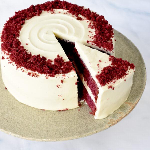 Red-Velvet-taart-glutenvrije bakkerij