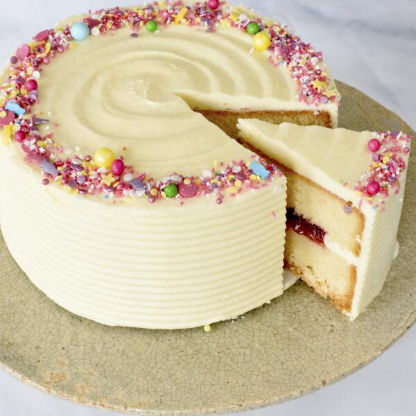 Verjaardagstaart-glutenvrije bakkerij