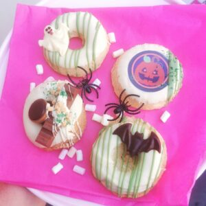Halloween crazy donuts